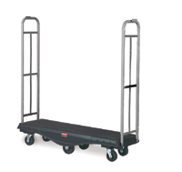Rubbermaid 9T56 StockMate Restocking Truck, Utility Deck